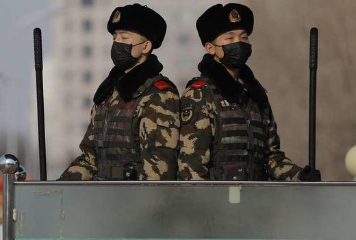 Военное положение в Китае из-за вируса